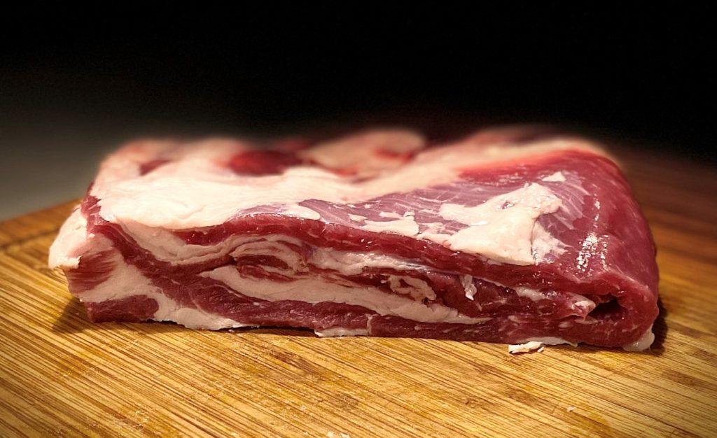 Poitrine-Porc-Noir-de-Bigorre